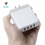USB Wall Charger 4 Port Home Travel Universal Portable USB Power adapter 36w 5V 7.2A EU US UK plug
