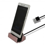 Cheap Docking Charging Stand Charger for Android Phone Charger Desktop 5V/1.5A Dock Station micro tip